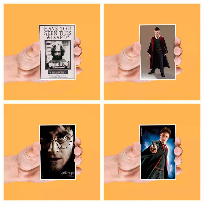 Set 4 imanes lenticulares Harry Potter surtido 8435450240058
