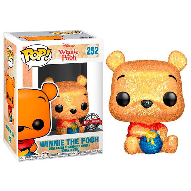 Funko POP o Figura POP Disney Winnie the Pooh Seated Pooh Glitter Exclusive