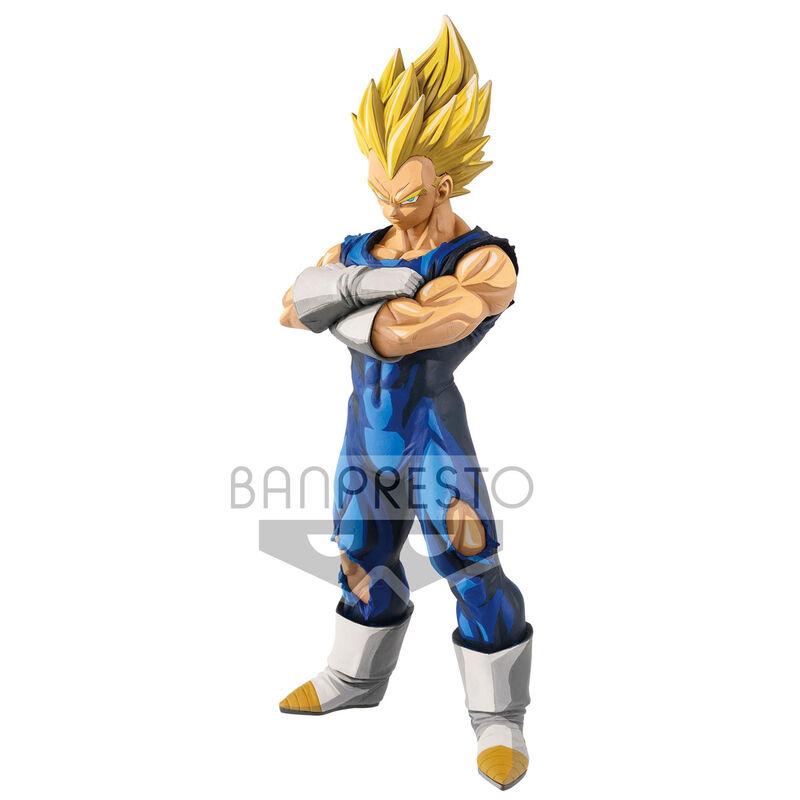 Figura Grandista Super Saiyan Vegeta Dragon Ball Z 34cm 4983164355352