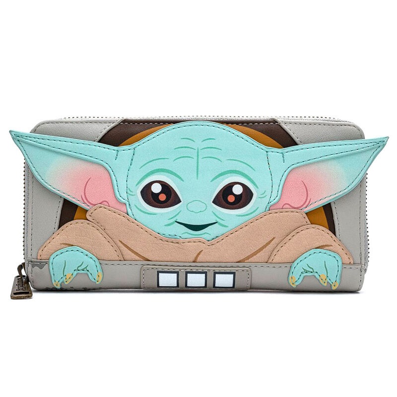Cartera Baby Yoda (The Child) The Mandalorian Star Wars