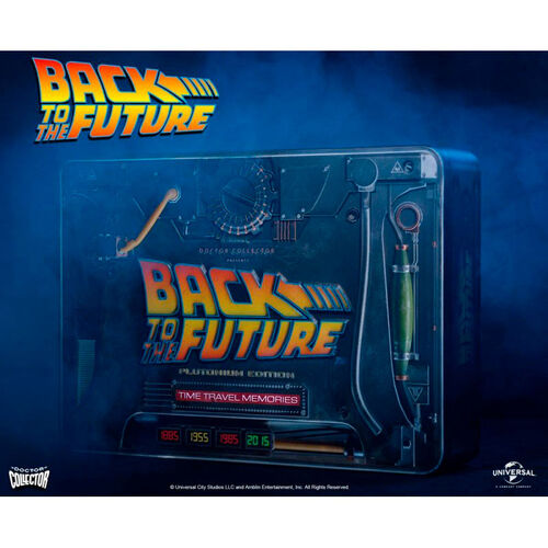 Kit Time Travel Memories Plutonium Regreso al Futuro