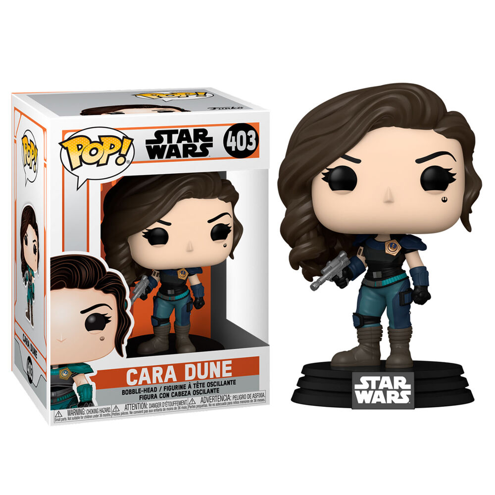 Funko POP o Figura POP Star Wars The Mandalorian Cara Dune