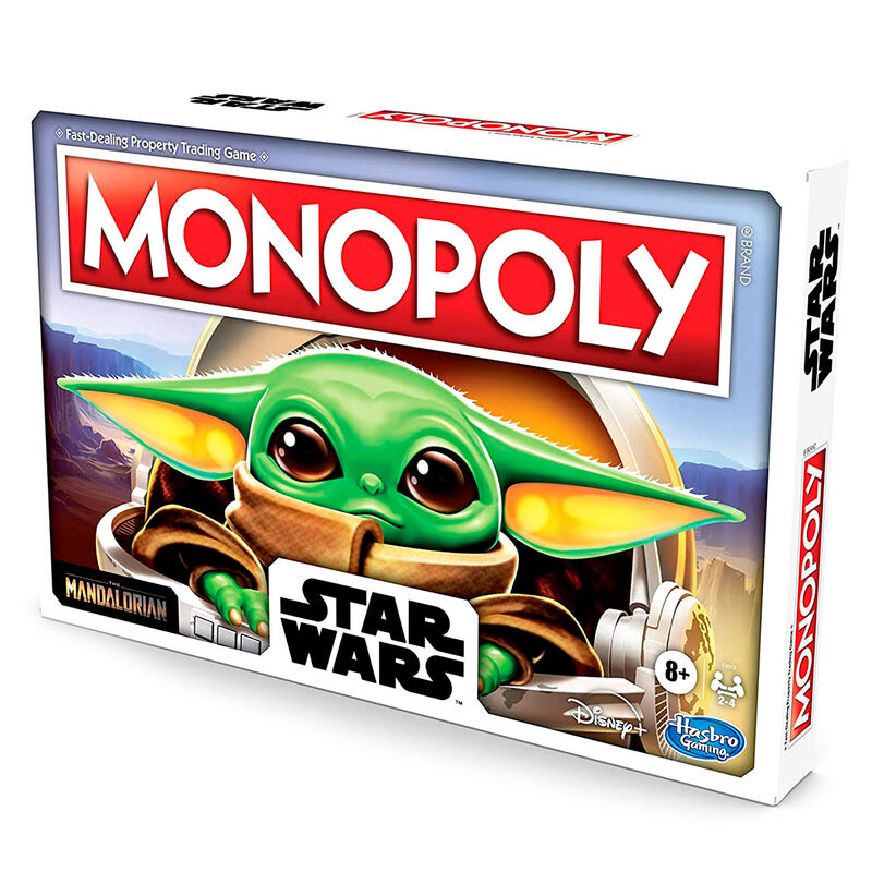 Juego Monopoly Baby Yoda (The Child) Star Wars By Hasbro