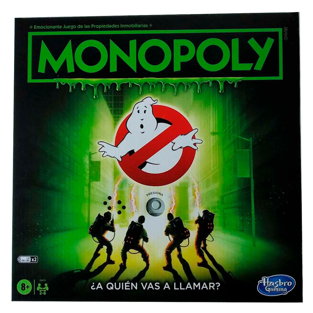 Juego Monopoly Ghostbusters 5010993702213