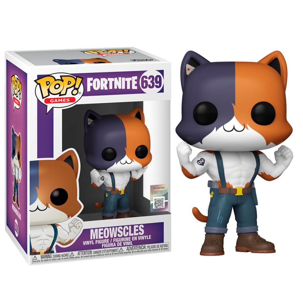 Pre-pedido Funko POP o Figura POP Fortnite Meowscles