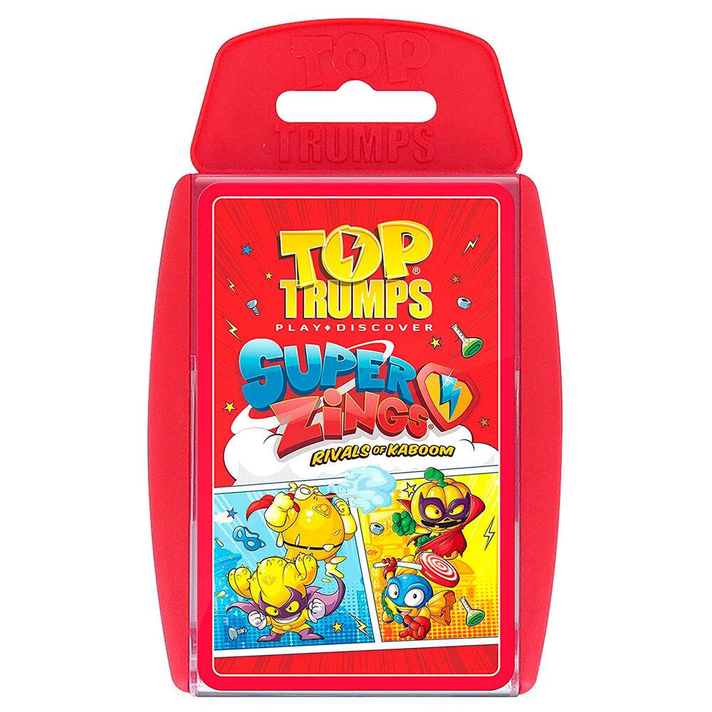 Juego cartas SuperZings Top Trumps 5036905040570