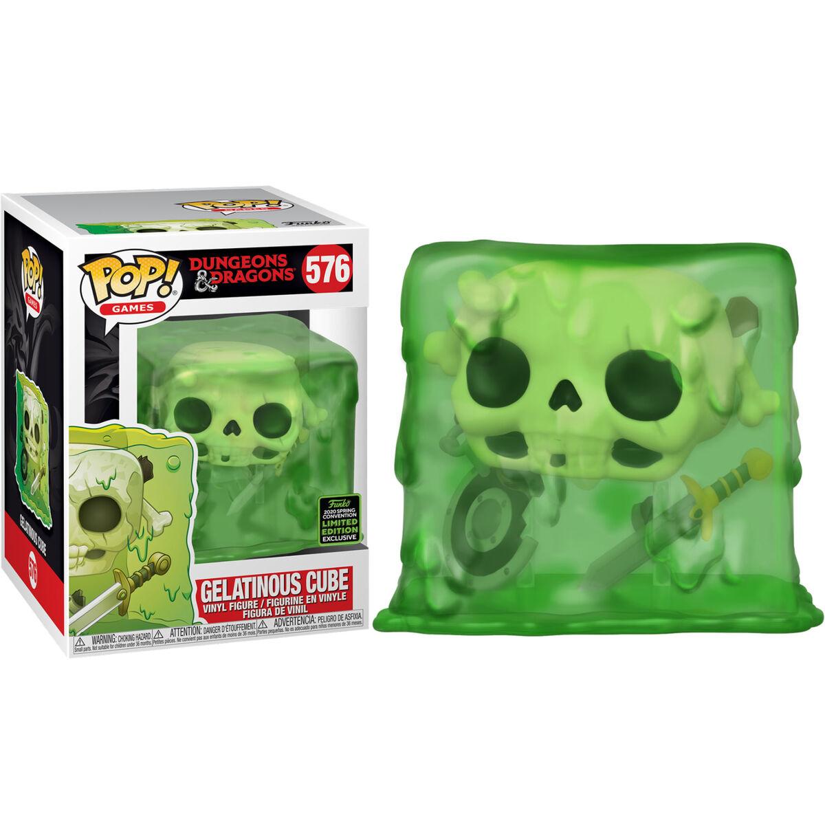 Figura POP Dungeons & Dragons Gelatinous Cube Exclusive 889698459181