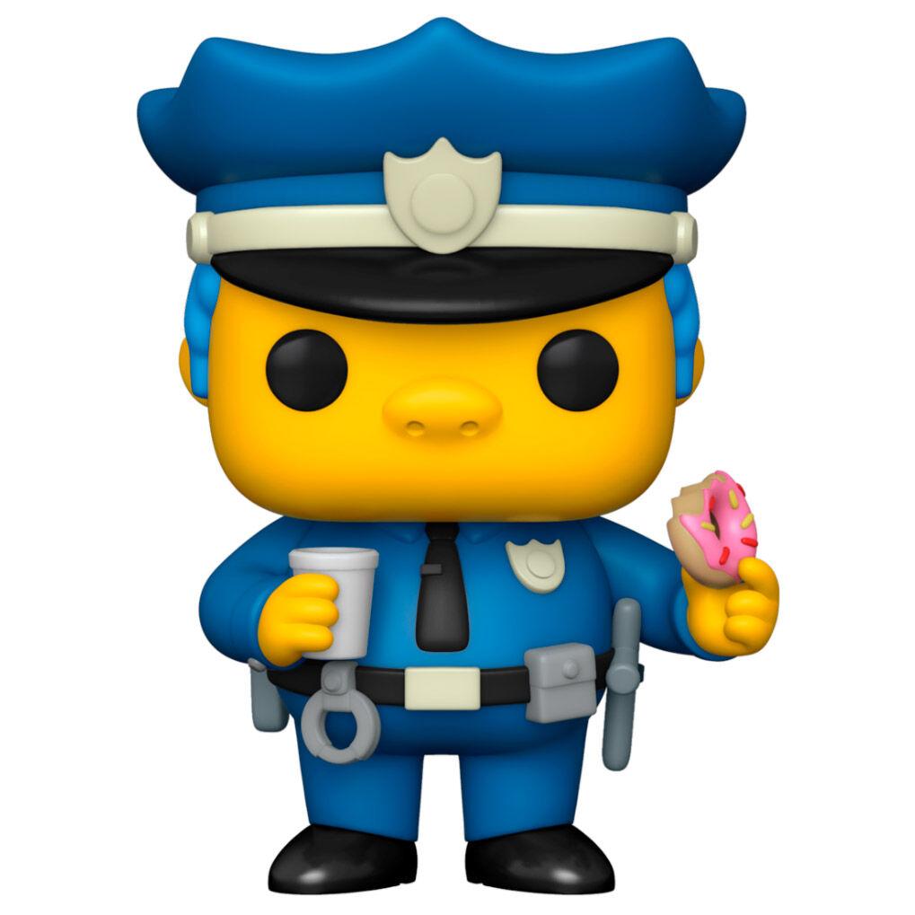 Funko POP o Figura POP Simpsons Chief Wiggum