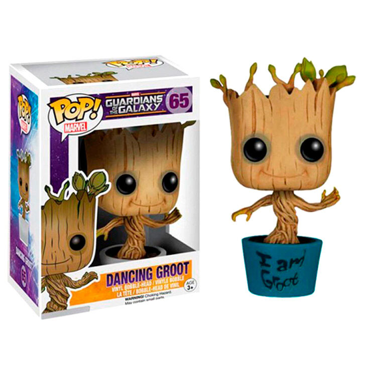 Funko POP o Figura POP Marvel Guardianes de la Galaxia Dancing I Am Groot