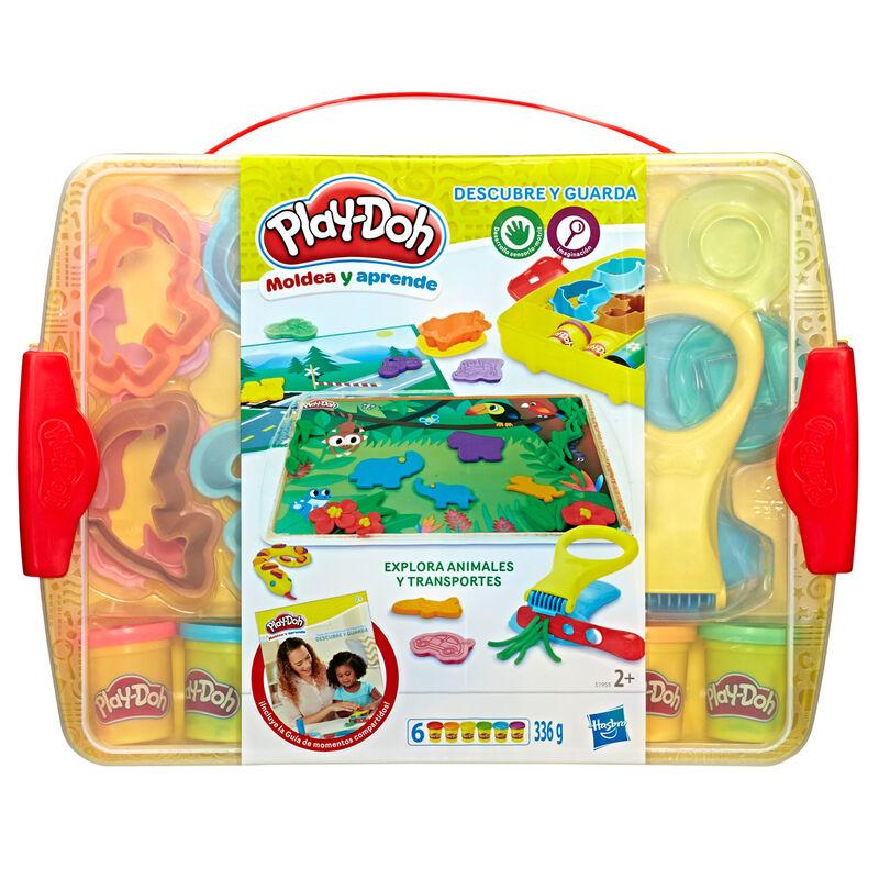Explora Animales y Transportes Descubre y Guarda Play-Doh 5010993540129