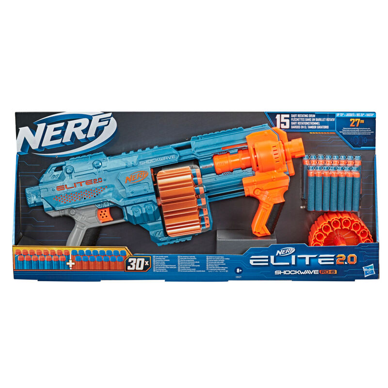 Lanzador Shockwave RD 15 Nerf Elite 2.1 5010993826681
