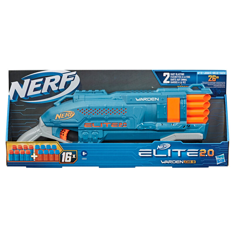 Lanzador Warden DB 8 Elite 2.0 Nerf 5010993826742