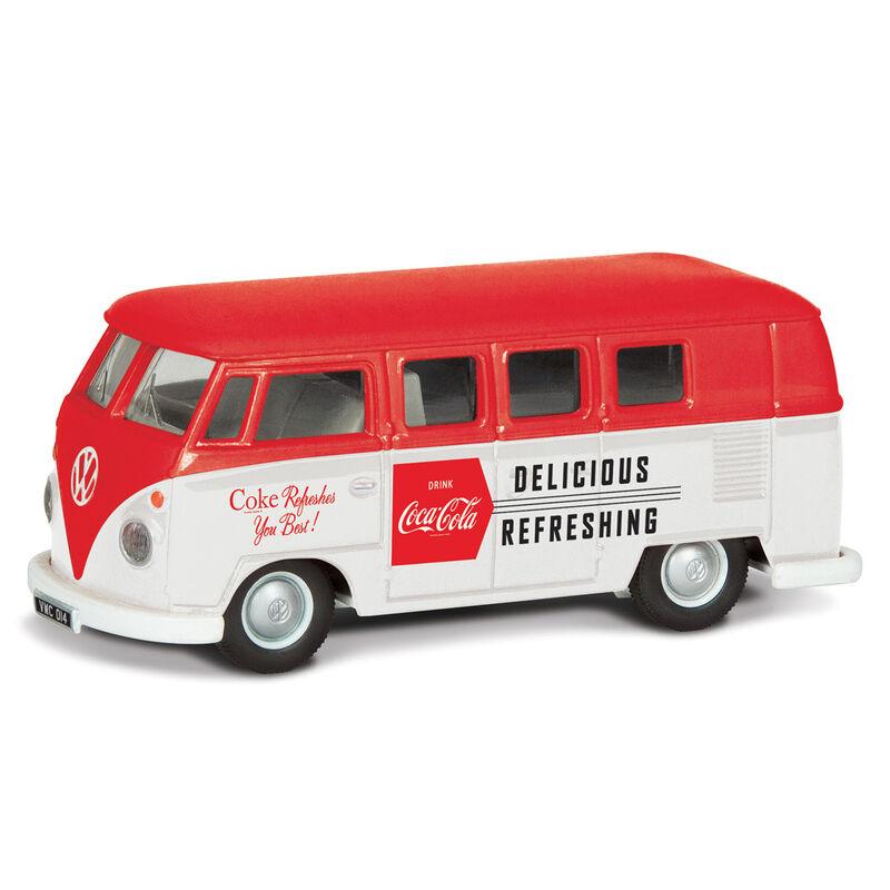 Furgoneta Late 1960 s VW Camper Coca Cola 5055286666667
