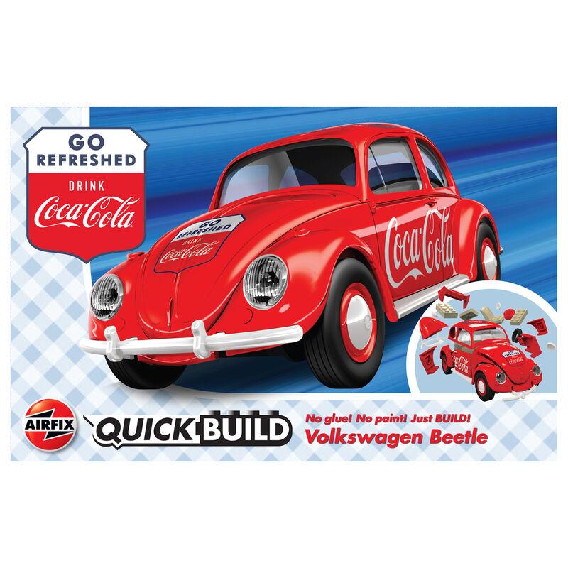 Coche VW Beetle QuickBuild Coca Cola 5055286668463