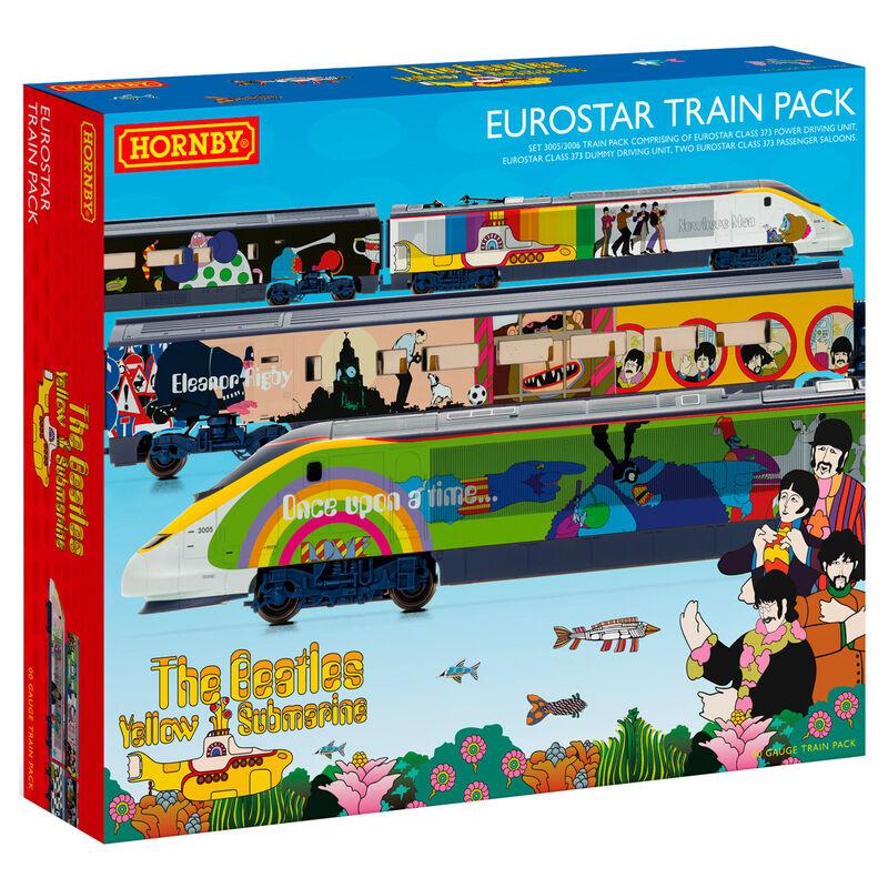Pack Tren Eurostar Class 373 Yellow Submarine The Beatles 5055286671128