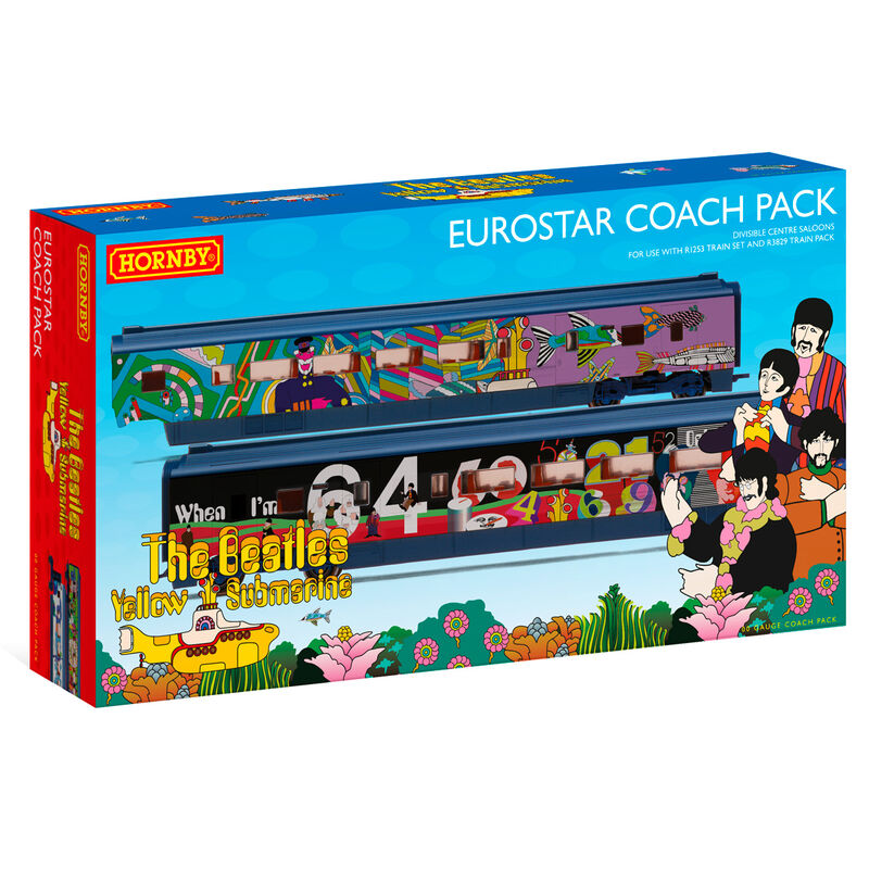Eurostar, Class 373/1 ´Yellow Submarine´ Divisible Centre Saloons Coach Pack 5055286677335