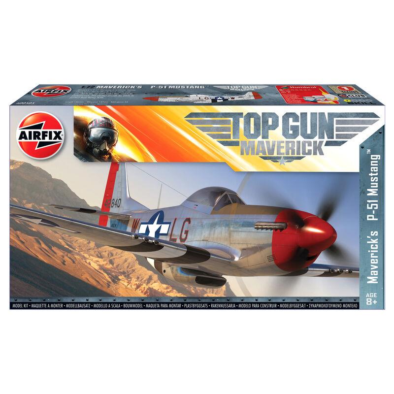 Maqueta Maverick s P-51D Mustang Top Gun 5055286678639