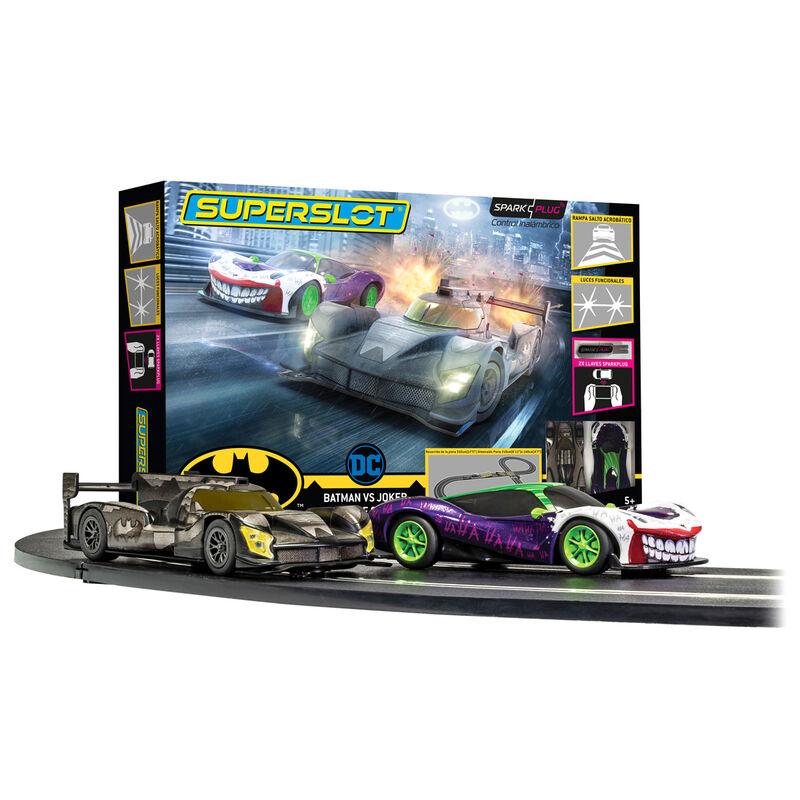 Race Set Batman vs Joker SuperSlot Spark Plug 5055286681011
