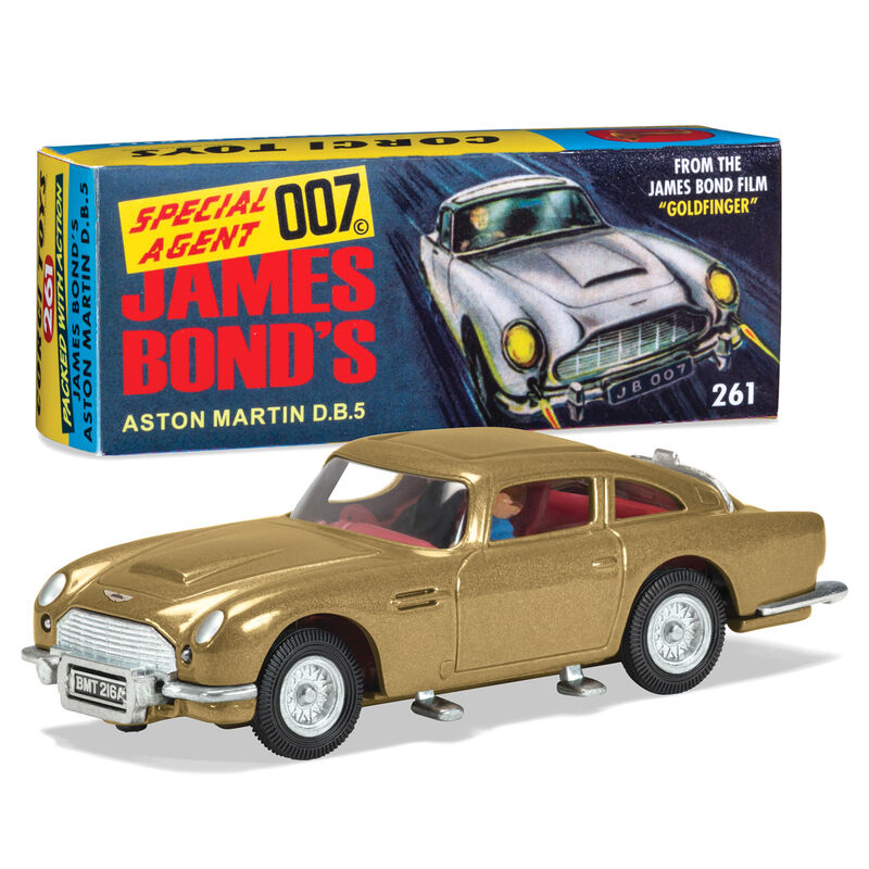 Coche Aston Martin DB5 Goldfinger 60 s version James Bond 5055286676871