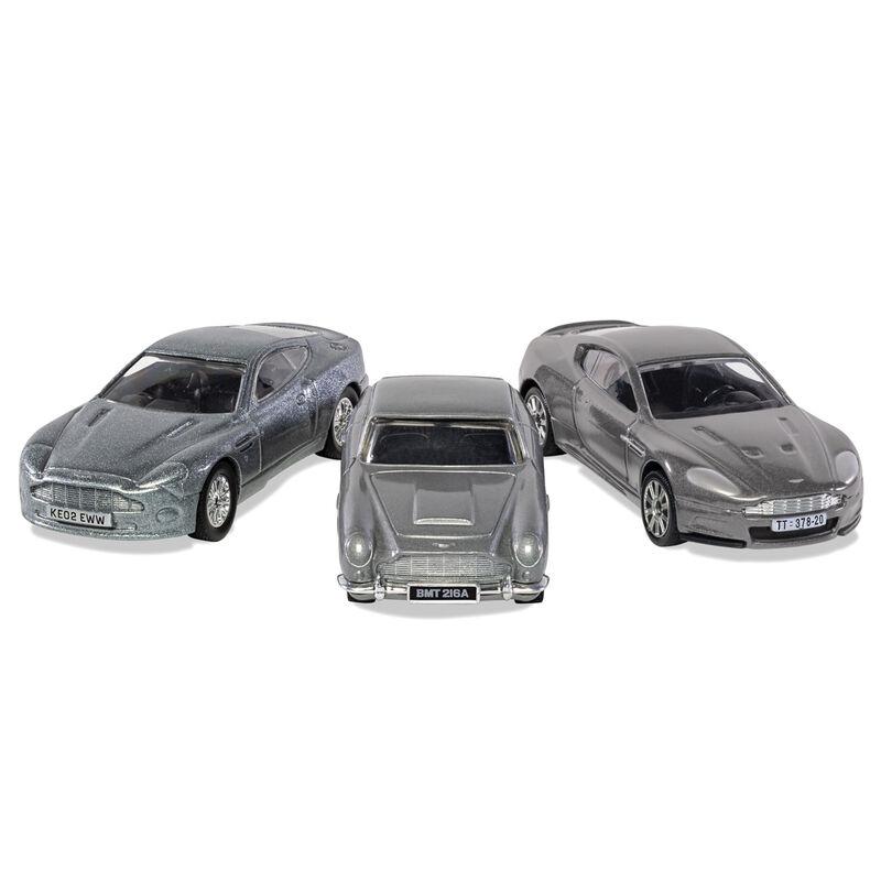 Cohe V12 Vanquish, DB5, DBS Aston Martin Collection James Bond surtido 5055286673696