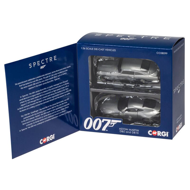 Pack Aston Martin DB5 y DB10 Casino Royale and Spectre James Bond 5055288631564