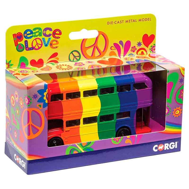 Bus London Rainbow 5055286670541