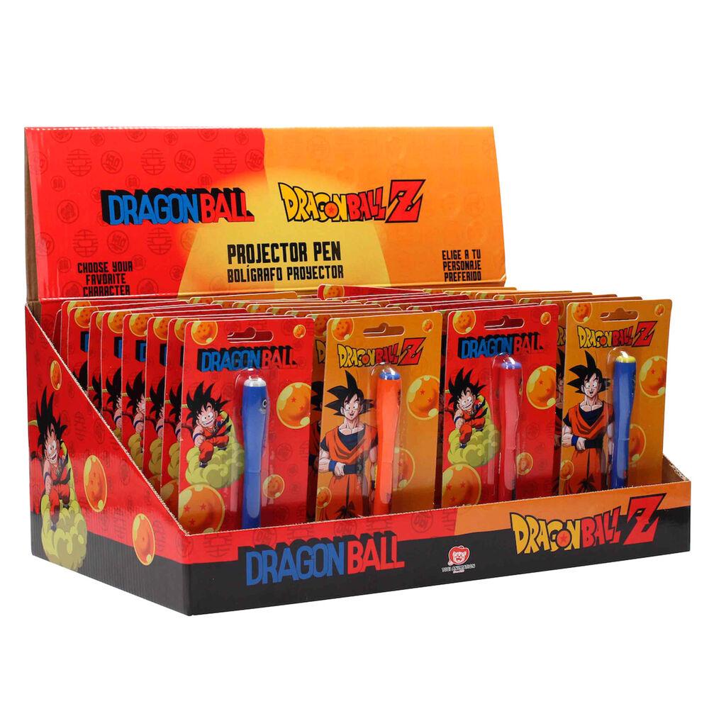 Boligrafo Dragon Ball Z con luz surtido 8435450232596
