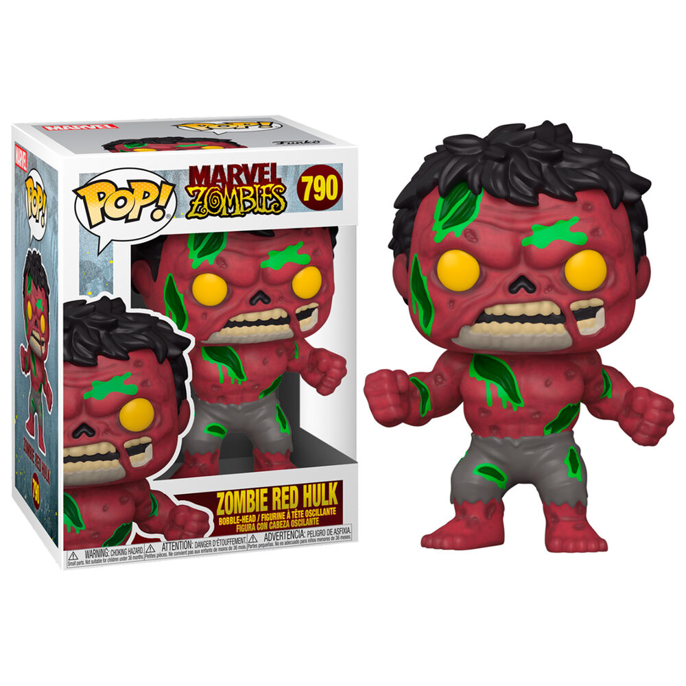 Funko POP o Figura POP Marvel Zombies Red Hulk