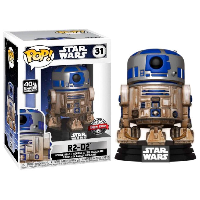 Funko POP o Figura POP Star Wars Dagobah R2-D2 Exclusive