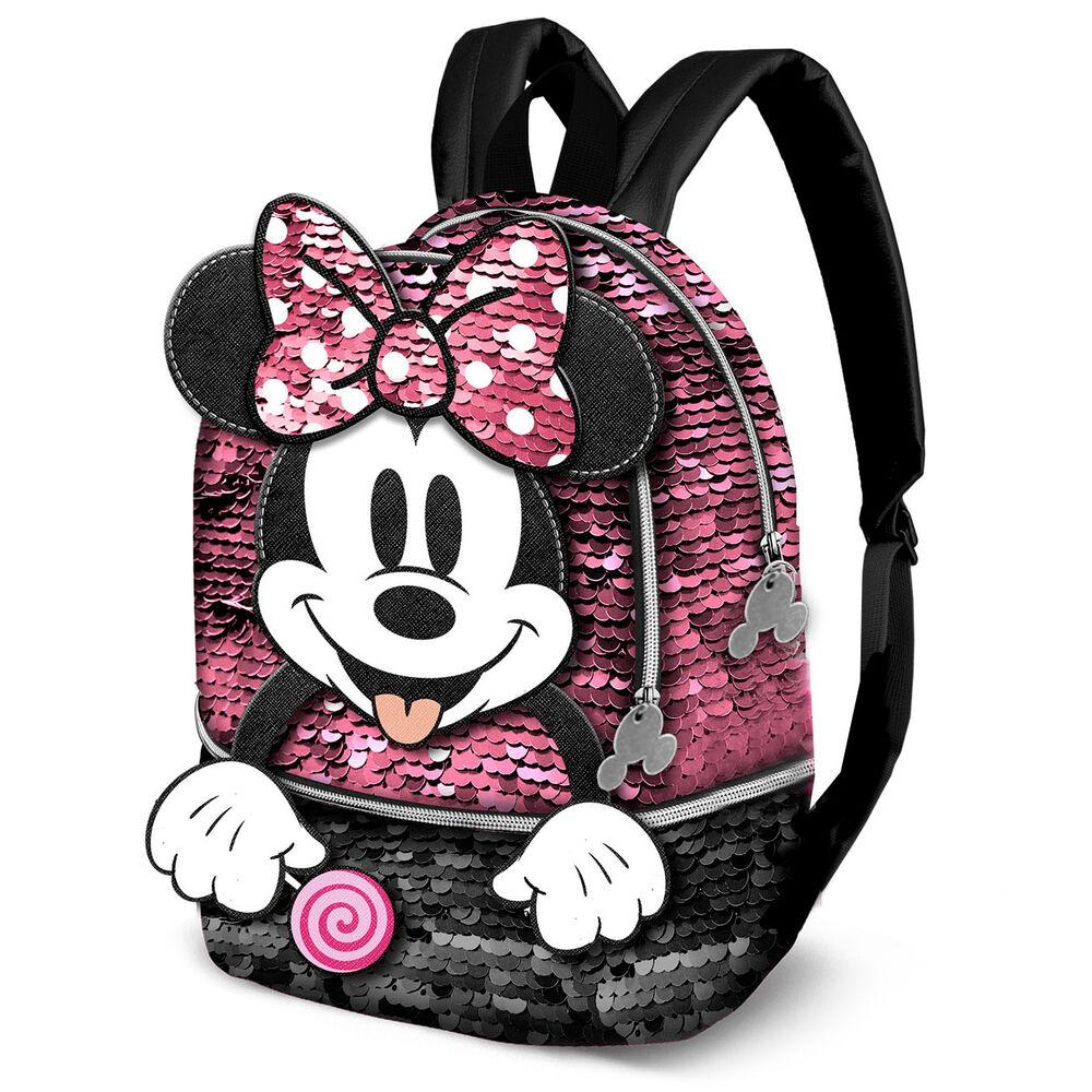 Mochila Lollipop Minnie Disney lentejuelas 32cm 8445118019155