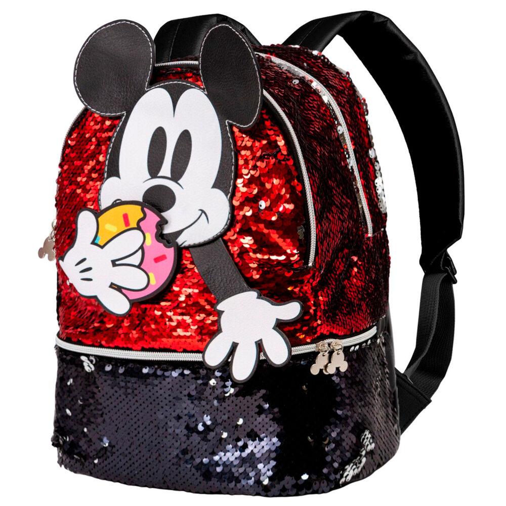 Mochila Donut Mickey Disney lentejuelas 32cm 8445118019063