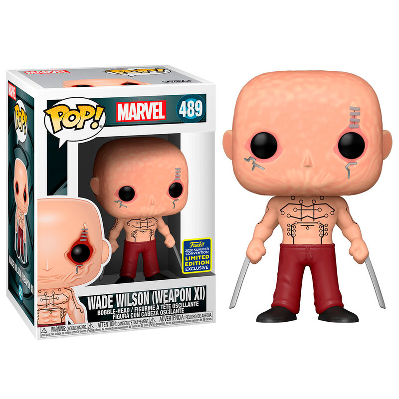 Funko POP o Figura POP Marvel X-Men Deadpool Wade Wison Exclusive