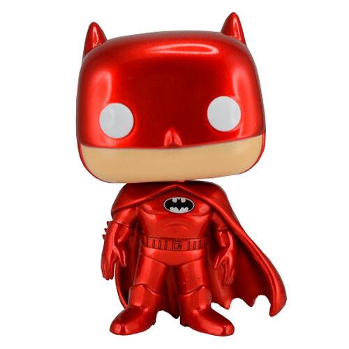 Figura POP DC Comics Batman Red Metallic Exclusive