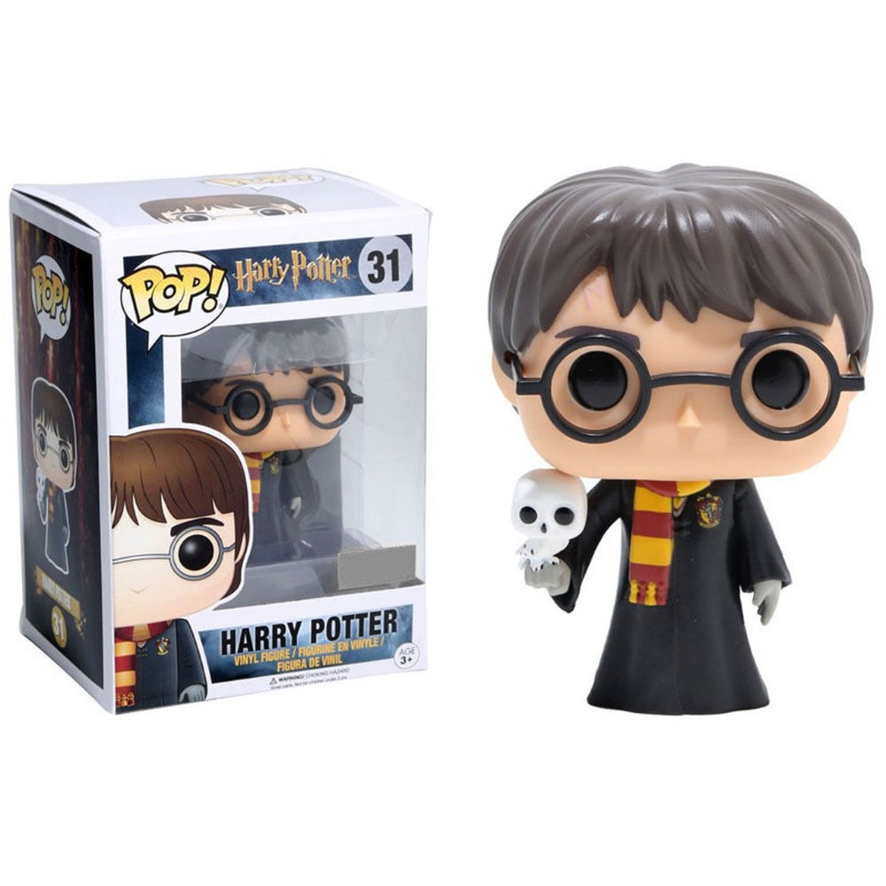 Figura POP Harry Potter Harry with Hedwig 889698119153
