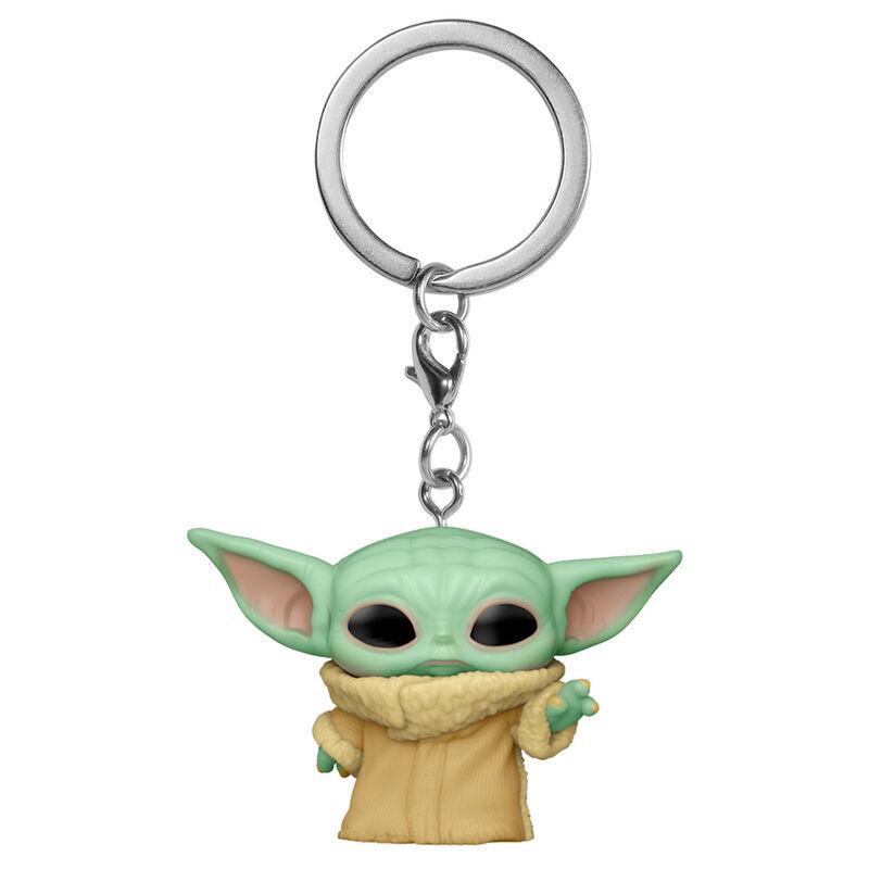 Llavero Pocket POP Star Wars The Mandalorian Yoda The Child 889698530439