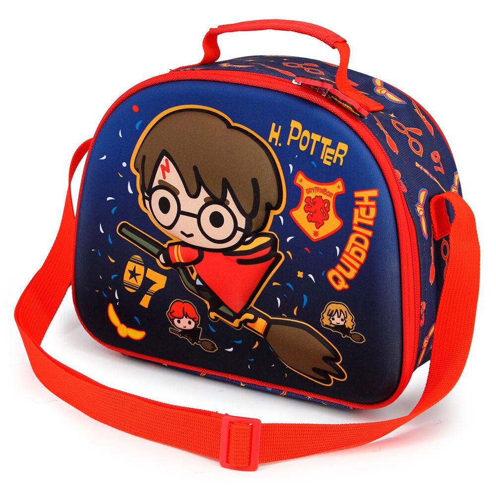 Bolsa portameriendas 3D Quidditch Harry Potter (2)