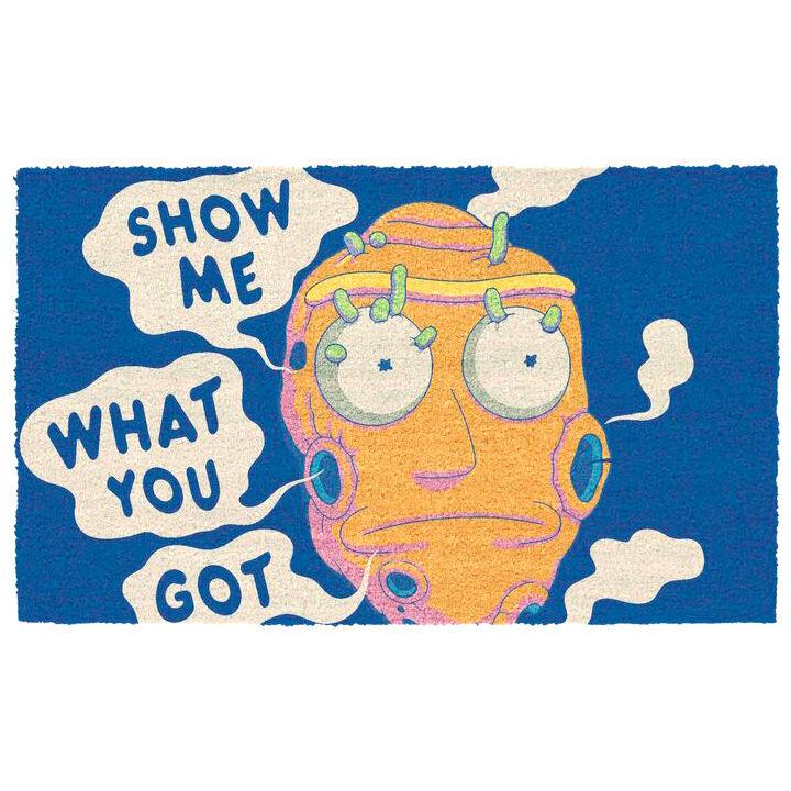 Felpudo Show Me What You Got Rick and Morty