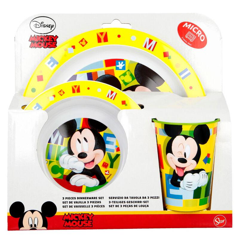 Set desayuno Mickey Disney microondas 8412497442492