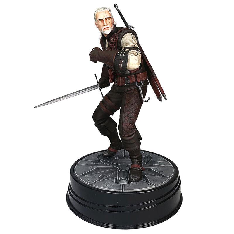 Estatua Geralt de Rivia The Witcher 3: Wild Hunt 20cm 761568007572