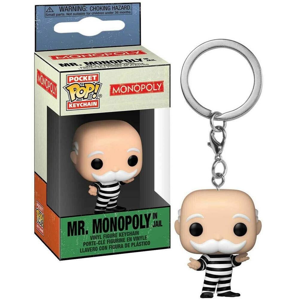 Llavero Pocket POP Monopoly Criminal Uncle Pennybags 889698518994
