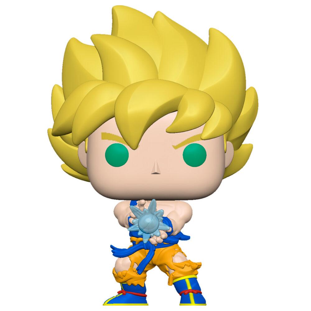Pre-pedido Funko POP o Figura POP Dragon Ball Z Serie 9 Super Saiyan Goku Kamehameha Wave