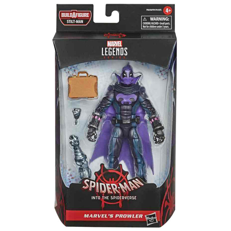 Figura Prowler Marvel Legends 15cm By Hasbro
