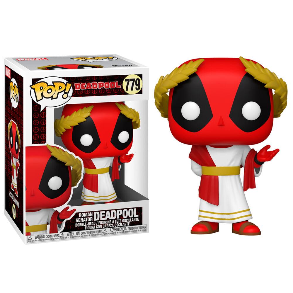 Funko POP o Figura POP Marvel Deadpool 30th Roman Senator Deadpool