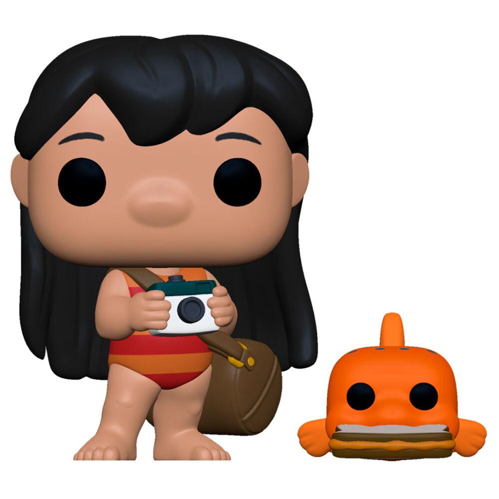 Figura POP Disney Lilo and Stitch Lilo with Pudge 889698556217