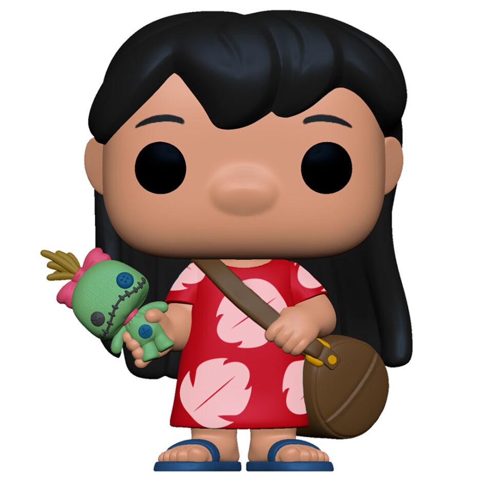 Figura POP Disney Lilo and Stitch Lilo with Scrump 889698556149