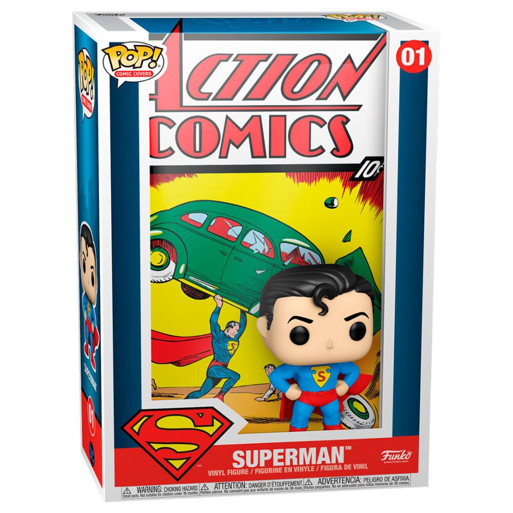 Pre-pedido Funko POP o Figura POP Comic Cover DC Superman Action Comic
