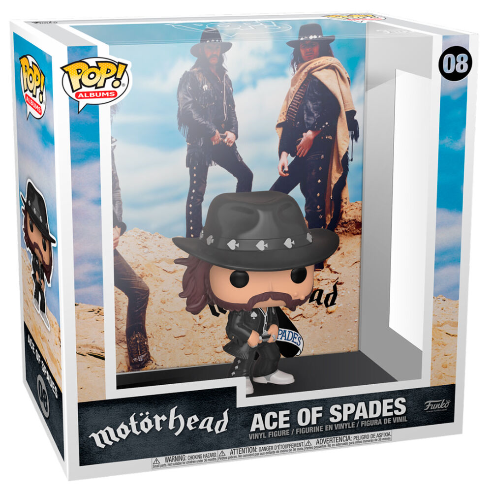 Figura POP Album Motorhead Ace of Spades
