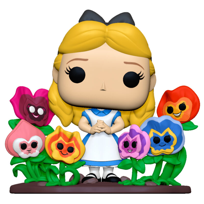 Pre-pedido Funko POP o Figura POP Disney Alicia en el Pais de las Maravillas 70th Alice with Flowers