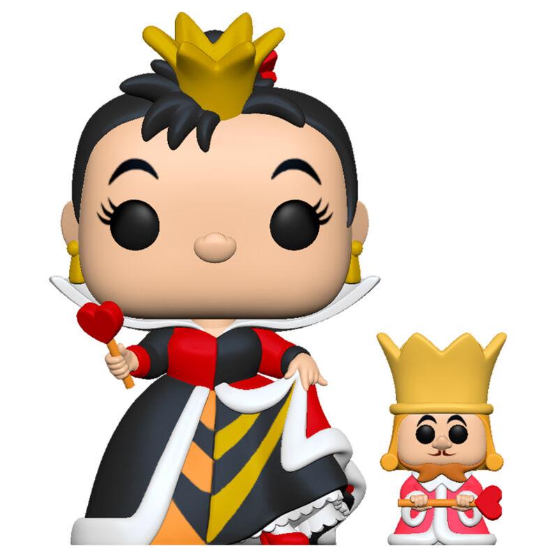 PRE-PEDIDO Funko POP o Figura POP Disney Alicia en el Pais de las Maravillas Queen with King