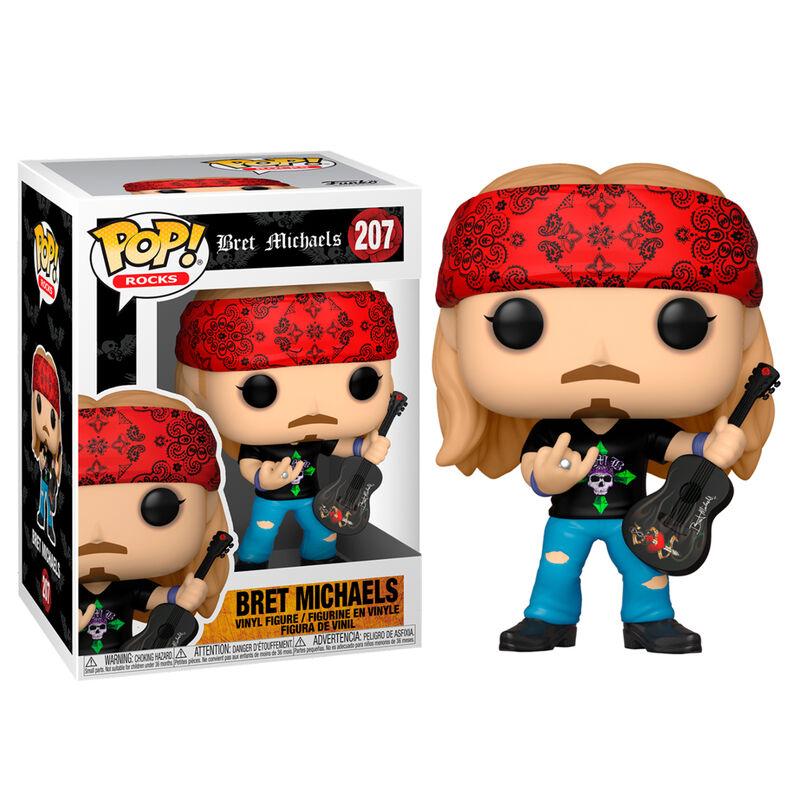 Pre-pedido Funko POP o Figura POP Bret Michaels